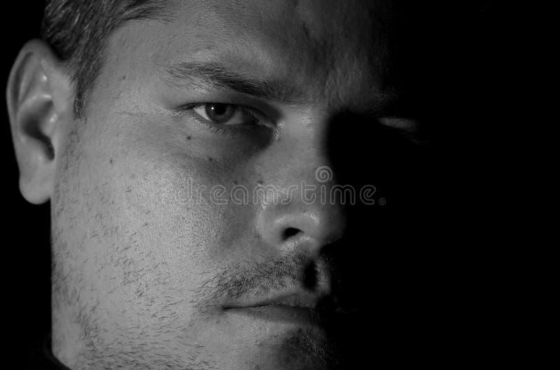 Portret młody człowiek obrazy royalty free