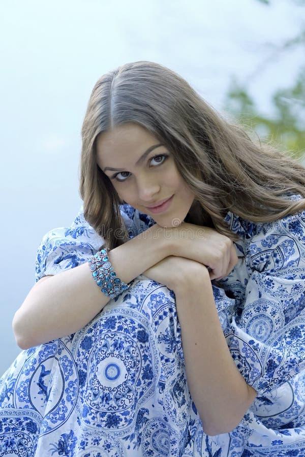 Portret młody piękno zdjęcie royalty free