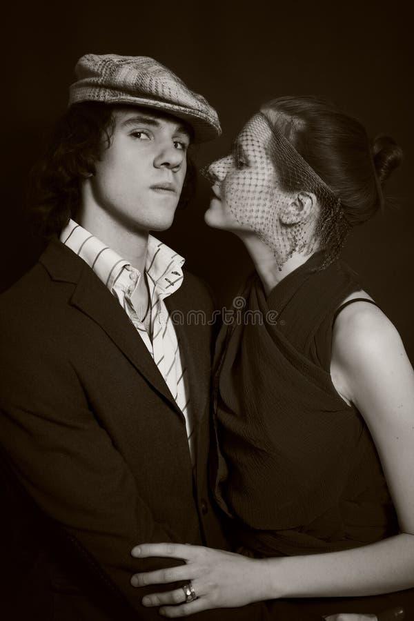 Portret młodzi człowiecy i kobiety zdjęcie royalty free