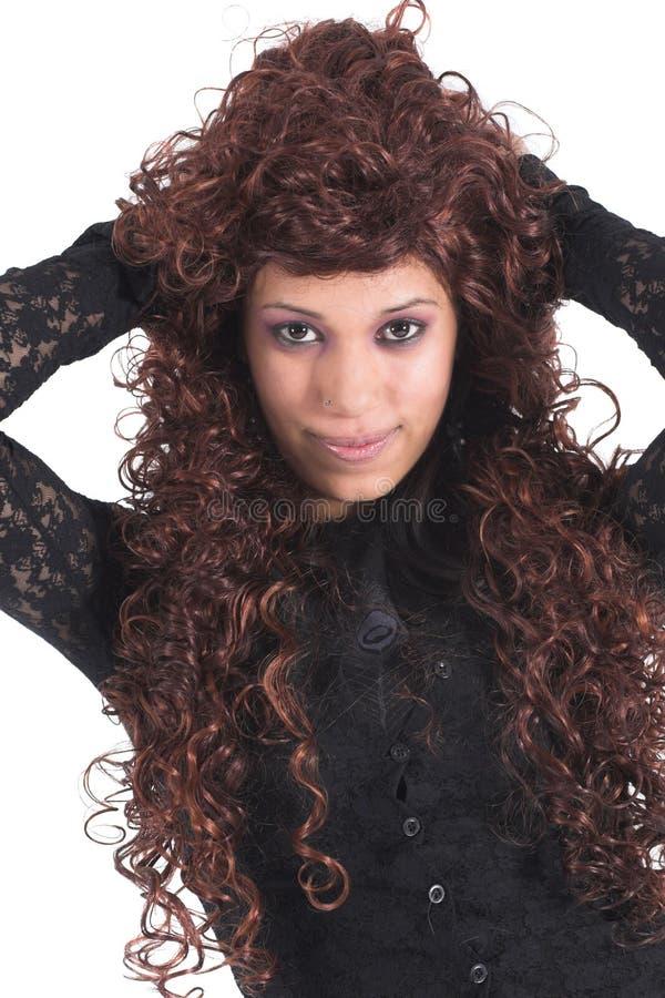 portret mody zdjęcie stock
