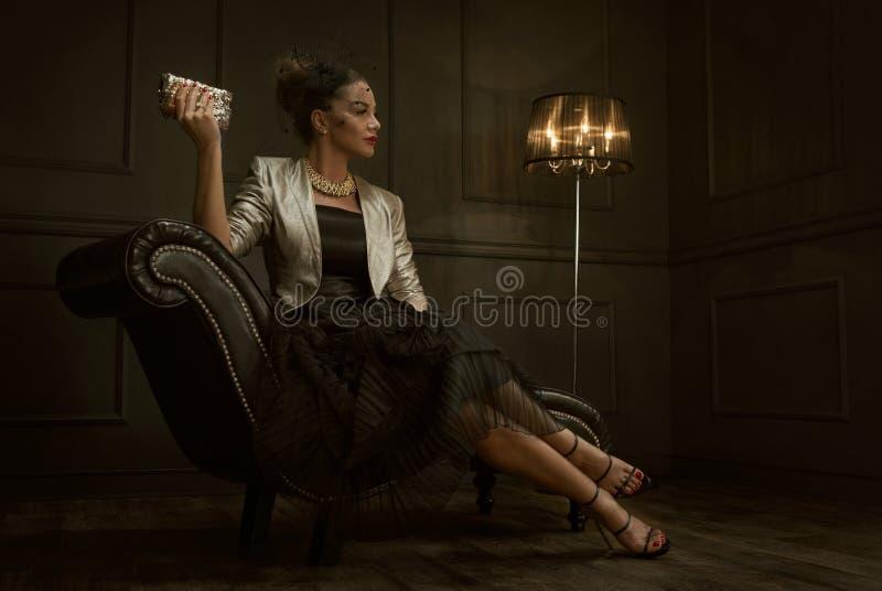 portret mody fotografia stock