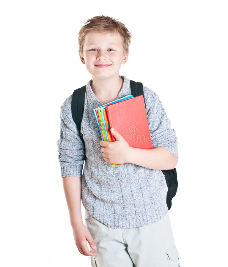 Portret nastoletni chłopak. fotografia royalty free