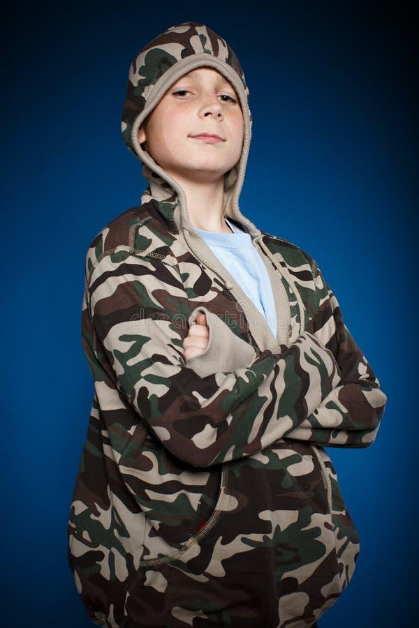Portret nastoletni chłopak zdjęcia royalty free