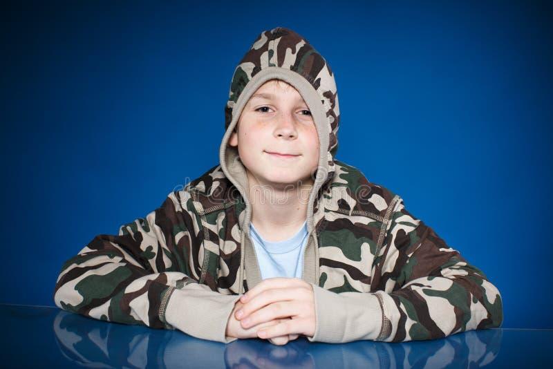 Portret nastoletni chłopak obrazy royalty free