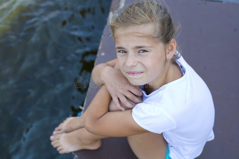 Portret nastoletnia dziewczyna obrazy stock