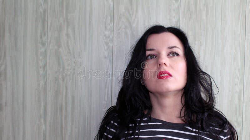 Portret piękna dziewczyna zdjęcie stock