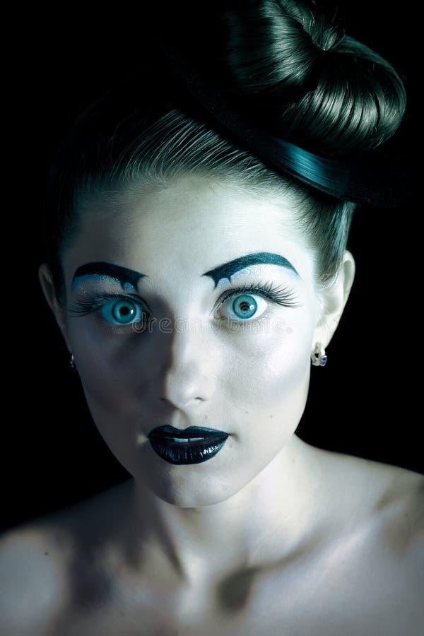 Portret piękna dziewczyna fotografia stock