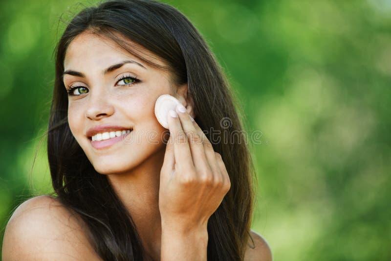 portret piękna naga kobieta fotografia stock
