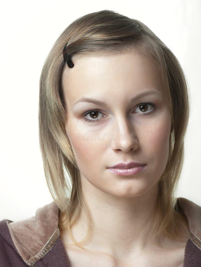 Portret piękna nastolatek dziewczyna obrazy stock