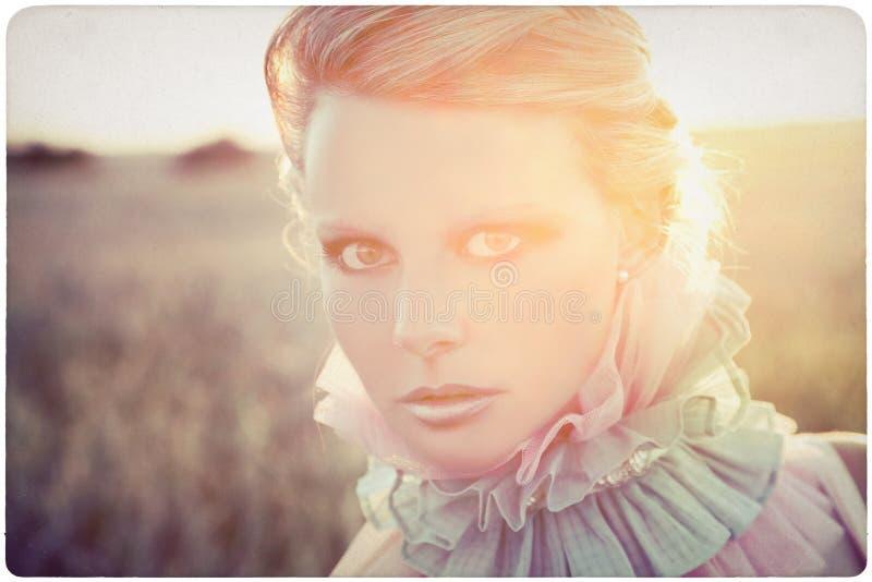portret piękna plenerowa kobieta obrazy stock