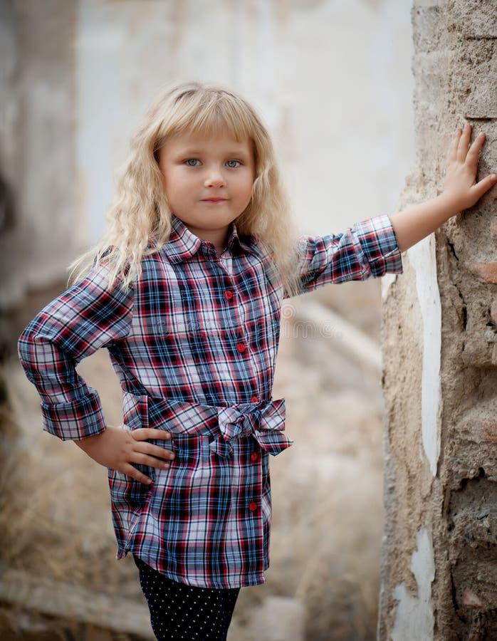 Portret piękny mały zdjęcia stock