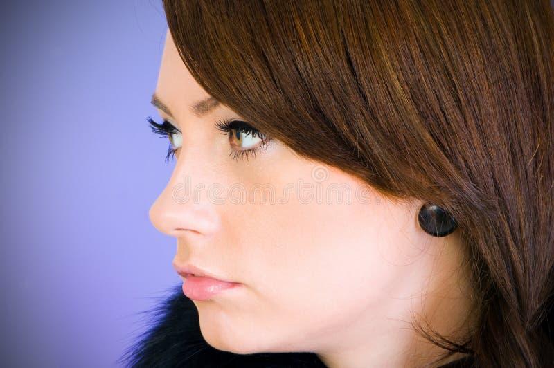 Download Portret piękna kobieta zdjęcie stock. Obraz złożonej z jeden - 13334988