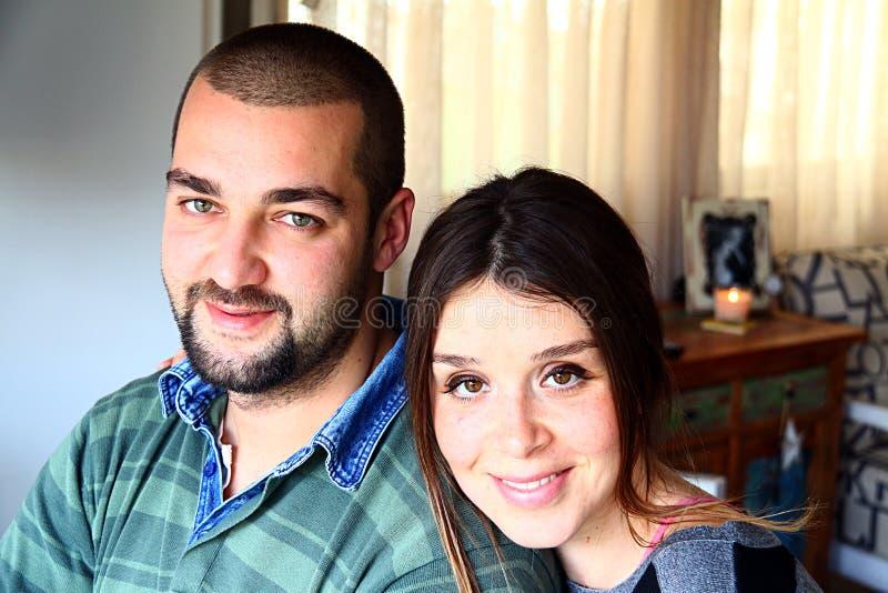Portret potomstwo Poślubiająca Turecka para zdjęcia royalty free