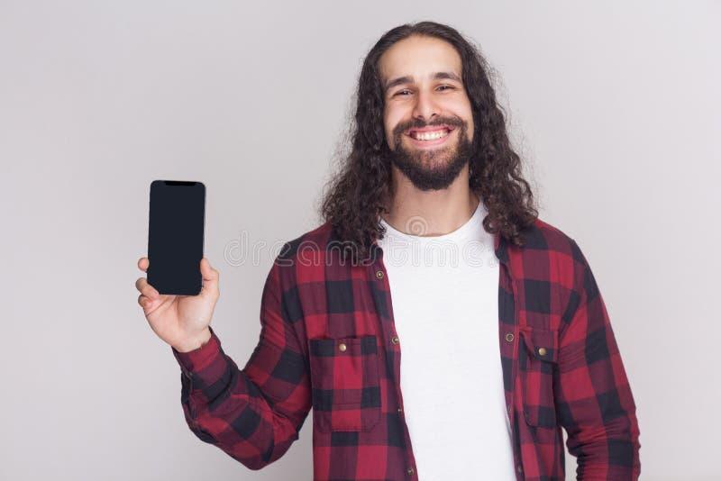 Portret pozytywny przystojny młody dorosły biznesmen w czerwonym che obraz royalty free