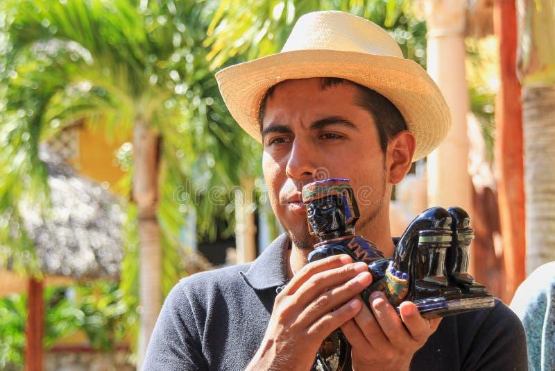 Portret przystojny młody meksykański facet fotografia royalty free