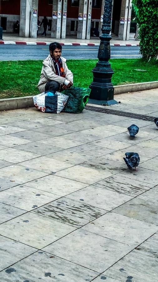 Portret Rabat Maroko zdjęcie royalty free