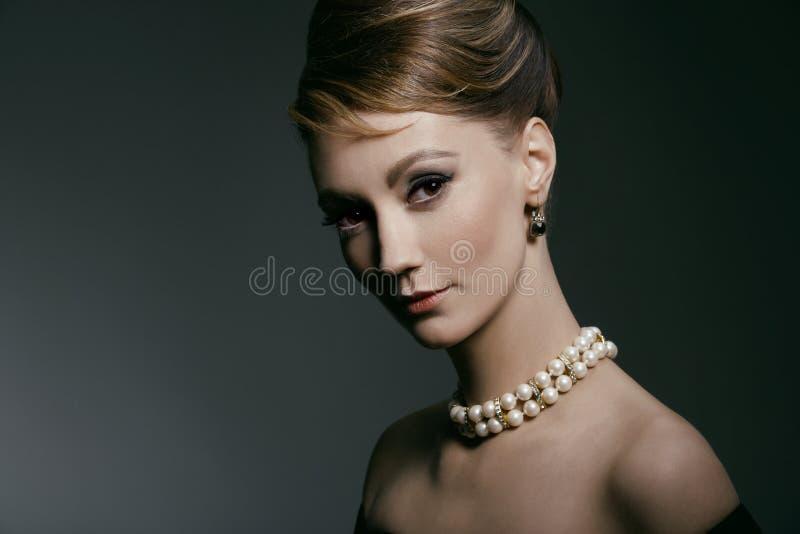portret retro zdjęcia royalty free