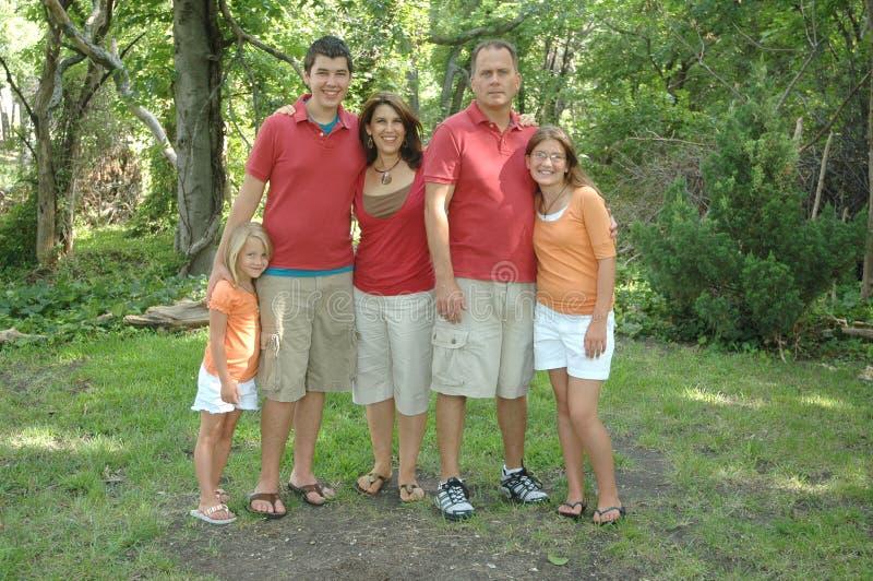 portret rodzinny zdjęcia royalty free