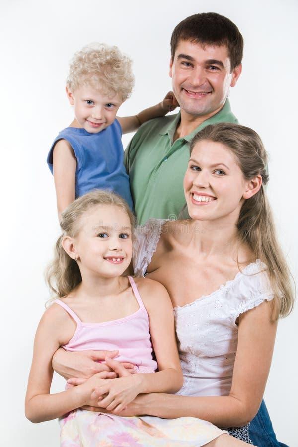 portret rodzinny obraz royalty free