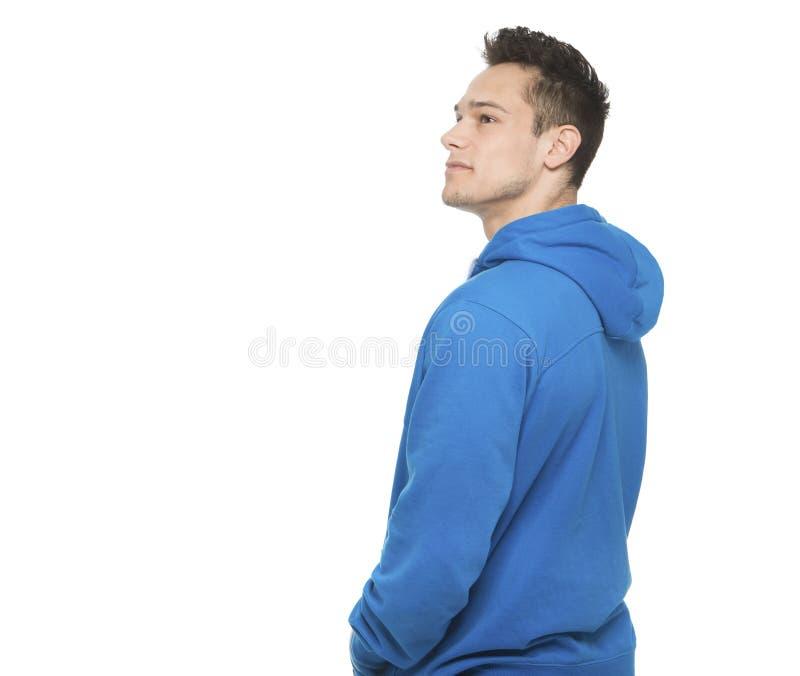 Portret Rozważny młody człowiek zdjęcie stock