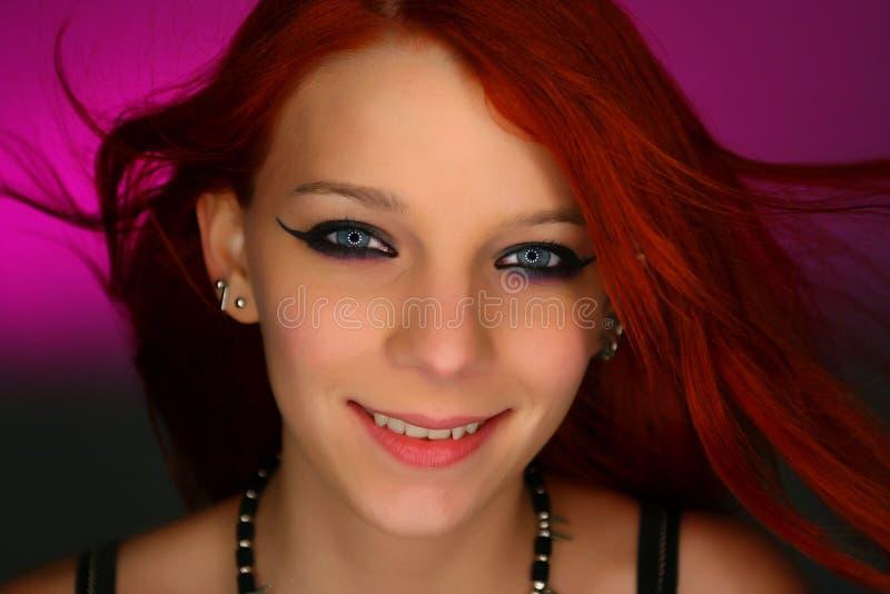 Portret seksowna młoda bujak dziewczyna obraz stock