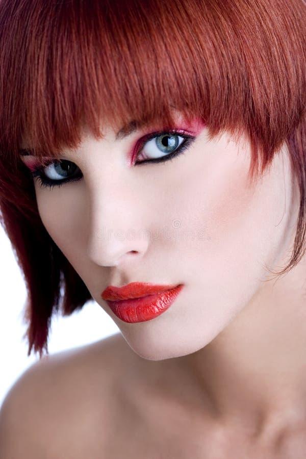 Portret seksowna młoda kobieta fotografia stock