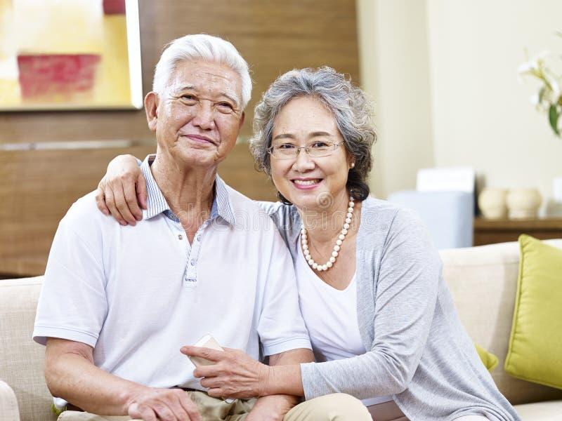 Portret starsza azjatykcia kobieta obrazy royalty free