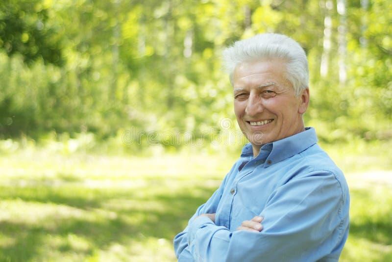 Portret starszy mężczyzna zdjęcie stock