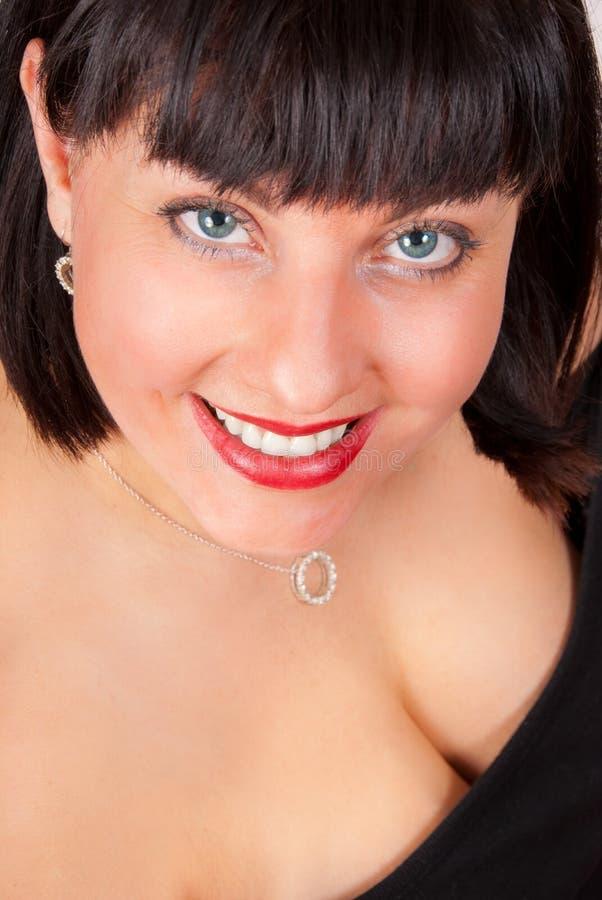 portret starzejąca się szczęśliwa kobieta zdjęcie royalty free