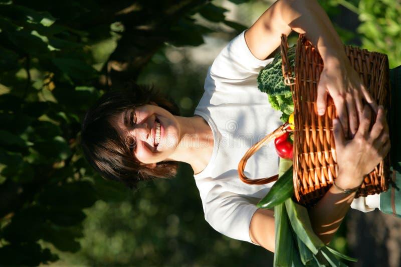 portret szczęśliwa kobieta obrazy stock
