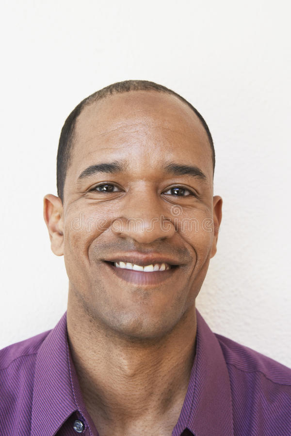 Portret Szczęśliwy mężczyzna obrazy stock