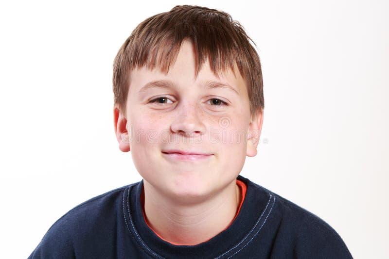 Portret szczęśliwy nastolatek obrazy royalty free