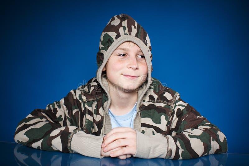 Portret szczęśliwy nastolatek zdjęcia stock