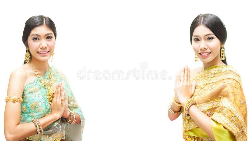 Portret Tajlandzka młoda dama obrazy stock