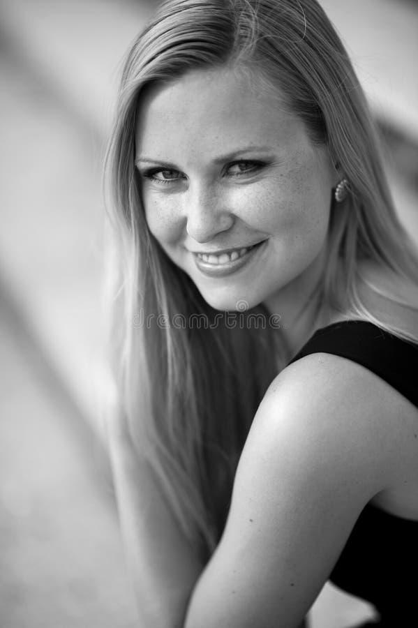 Portret twarz istna piękna kobieta fotografia royalty free