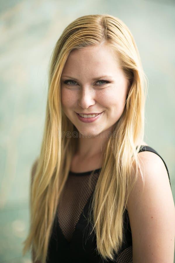 Portret twarz istna piękna kobieta fotografia stock