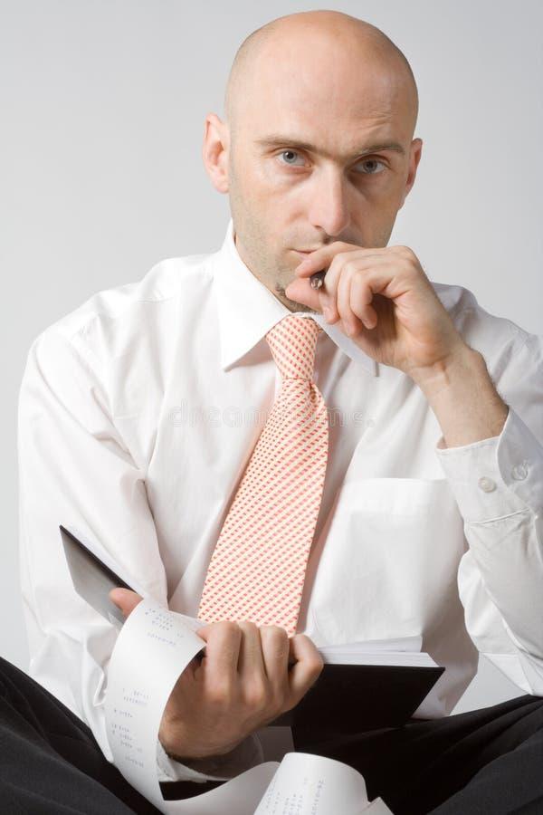 portret urzędnika zdjęcie stock