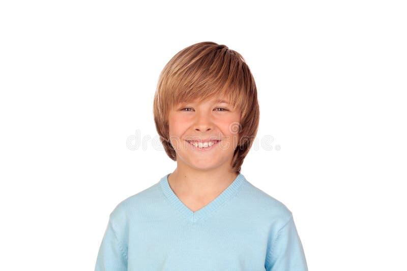 Portret van aanbiddelijk kind royalty-vrije stock afbeelding