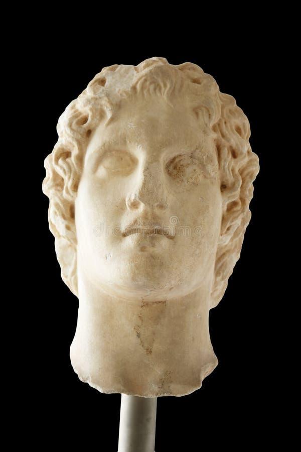 Portret van Alexander groot royalty-vrije stock foto