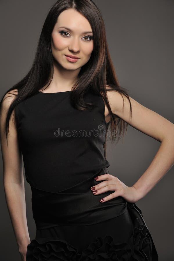 Portret van Aziatisch meisje stock afbeelding