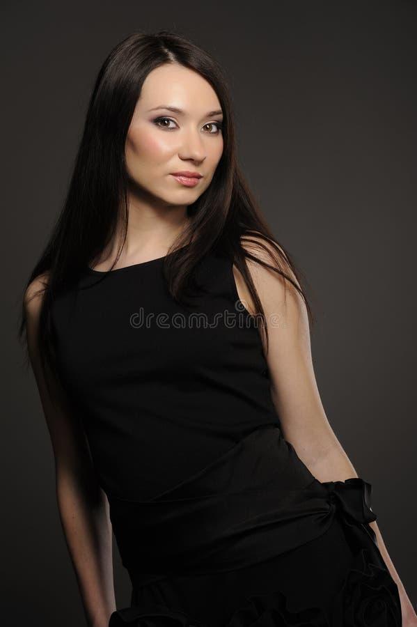 Portret van Aziatisch meisje stock afbeeldingen
