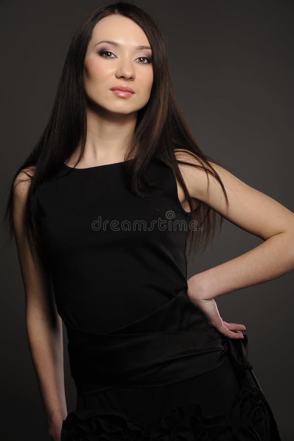 Portret van Aziatisch meisje royalty-vrije stock afbeeldingen
