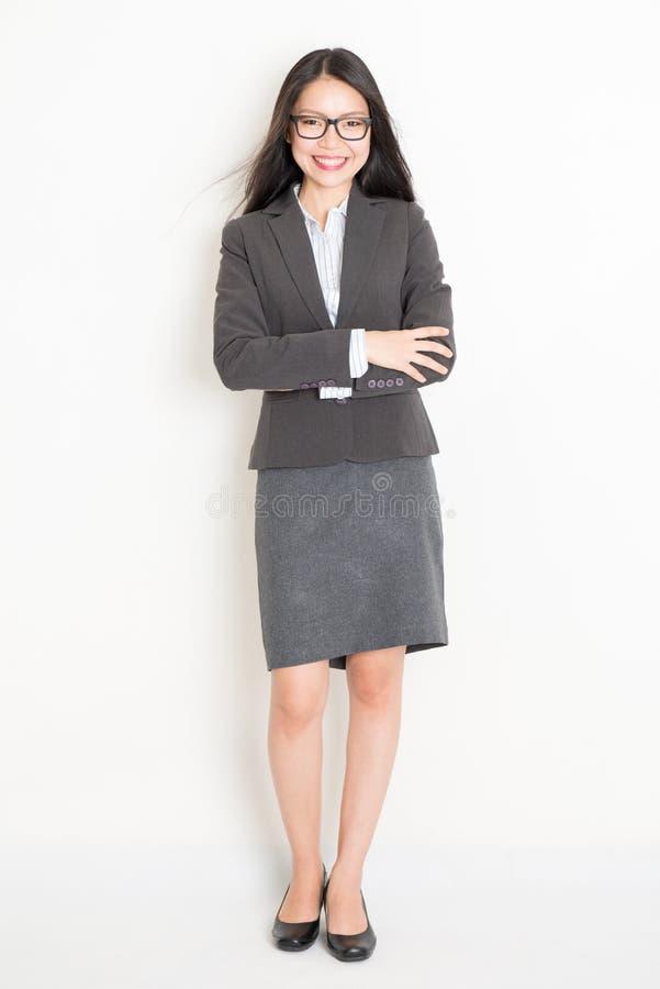 Portret van Aziatisch zakenlui stock afbeeldingen