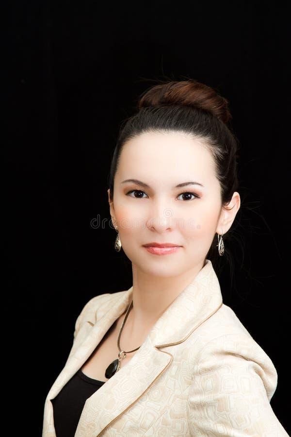 Portret van Aziatische secretaresse royalty-vrije stock foto