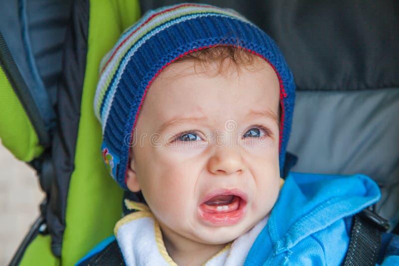 Portret van babyjongen stock afbeeldingen