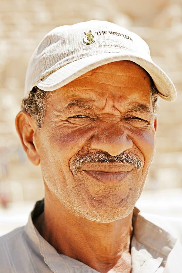 Portret van Bedouin stock foto's