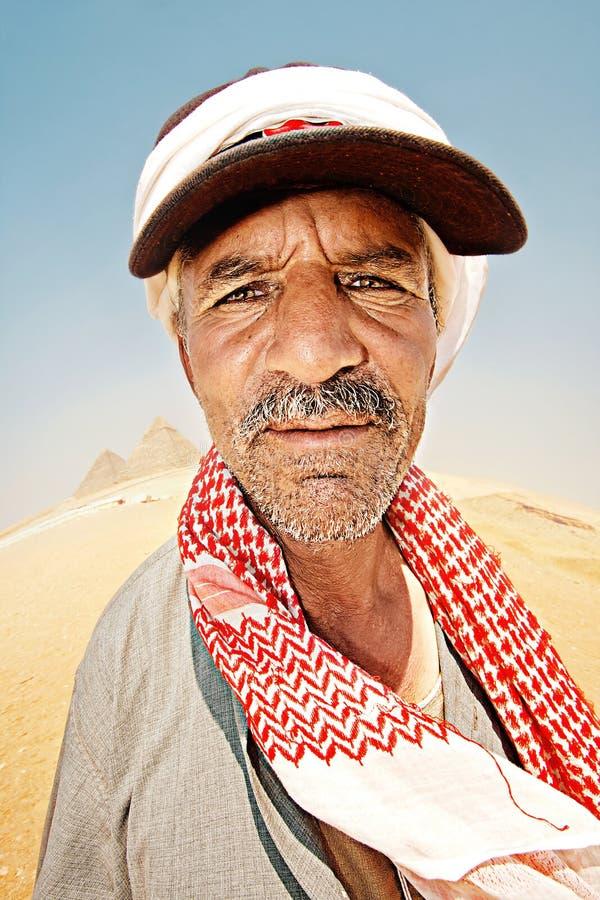 Portret van Bedouin stock afbeelding