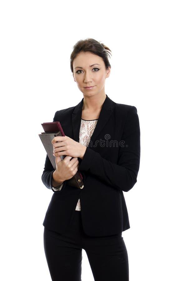 Portret van bedrijfsvrouw stock fotografie