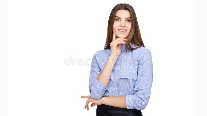 Portret van bedrijfsvrouw stock foto's