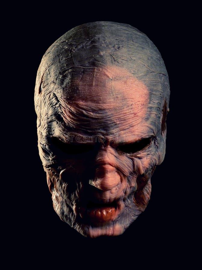 Portret van boos monster stock foto